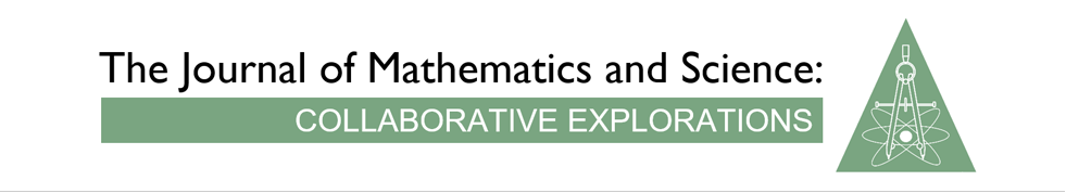 Journal of Mathematics and Science: Collaborative Explorations