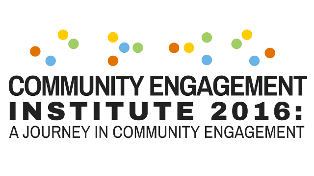 2016 Community Engagement Institute