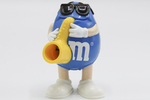 Blue M&M Figure (full front view) by Mars, Incorporated