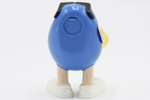 Blue M&M Figure (full rear view) by Mars, Incorporated
