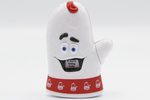 Arby's Know-It-All Oven Mitt (full front view) by Inspire Brands