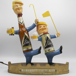 Blatz Beer Bar Display (full front view) by Valentin Blatz Brewing Company