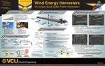Wind Energy Harvesters for Urban Small Scale Power Generation