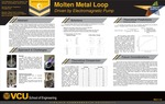 Molten Metal Loop Driven by Electromagnetic Pump