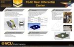 FSAE Rear Differential Carrier by Nicholas Rivero, Peter Quach, and Zack Jillani