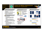 Capital One Mobile Authentication: Authentication using Biometric