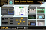 Fluid Routing System: Industrial Automation and Simulation