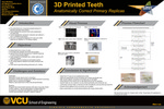 3D Printed Teeth: Anatomically Correct Primary Replicas