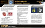 3D Heart Model for Mapping RF Ablation Sites