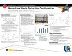 Hazardous Waste Reduction Continuation