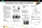 Infrared Stereo-Vision Target Tracking Robot