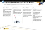 Automated DIN Rail Cut and Punch Machine by Youssif Alkheder, Gaston Charreun, Derrian Flemings, and Jonathan Liss