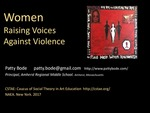 Women of Our Worlds: Women Raising Voices Against Violence by Patty Bode