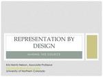 Representation By Design: Mining the Source by Kris Heintz Nelson