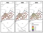 Map 05. Elementary School Racial Composition, Louisville-Jefferson County, Kentucky, 1992–2009.
