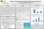 Impact of Socialization in Elderly Public-Housing Residents