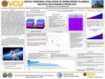 SPATIO-TEMPORAL EVOLUTION OF WARM DENSE PLASMAS: MOLECULAR DYNAMICS MODELING