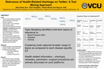 Relevance of Health-Related Hashtags on Twitter: A Text Mining Approach by Mauli Dalal and Kweki-Muata Osei-Bryson