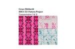 Pattern Project - Transportation I & II by Grace Ditthardt
