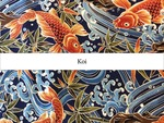 Pattern Research Project: An Investigation of The Pattern And Printing Process - Koi Wallpaper by Thao Kia