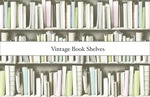 Pattern Research Project: An Investigation of The Pattern And Printing Process - Vintage Book Shelves