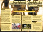 Female leadership in Powhatan Indian tribes: Changes from first contact with the Europeans to the present day