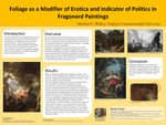 Foliage as a Modifier of Erotica and Indicator of Politics in Fragonard Paintings