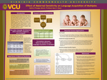Effect of Maternal Sensitivity on Language Acquisition of Multiples