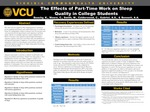 The Effects of Part-Time Work on Sleep Quality in College Students