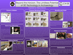 Beyond the Horizon: The Limitless Potential of 3D Technology in Archaeology