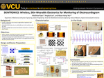 SKINTRONICS: Wireless, Skin-Wearable Electronics for Monitoring of Electrocardiogram