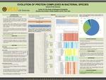 EVOLUTION OF PROTEIN COMPLEXES IN BACTERIAL SPECIES