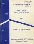 A Historical Bulletin of the Saint Philip School of Nursing and Alumnae
